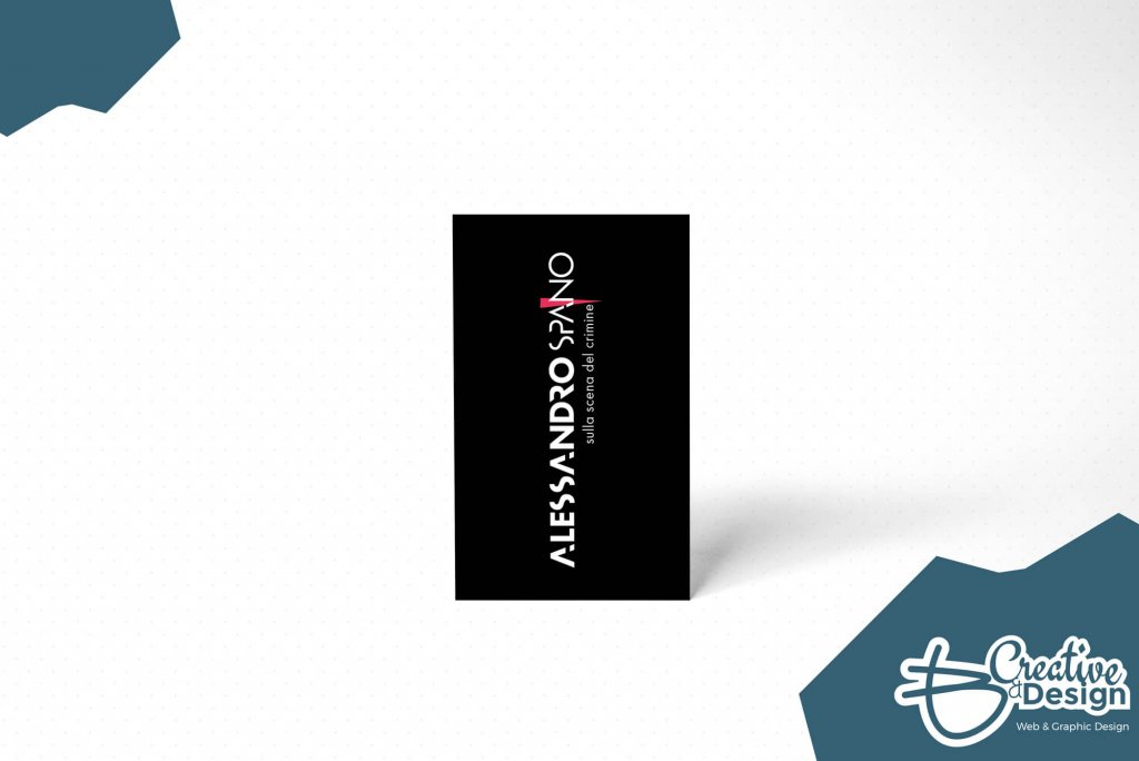 Alessandro spano Logo e biglietto da visita 2